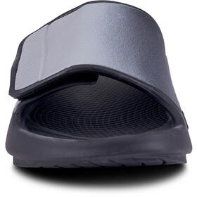 OOFOS Ooahh Sport Flex Sandals, negro/gris
